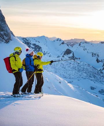 Ski de randonnée Station de la Sambuy - Annecy Mountains